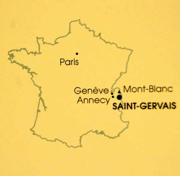 Mont Blanc Haute Savoie ST GERVAIS LES BAINS